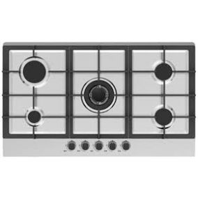 MIDEA Hob Built In 4Gas Steel 90CM