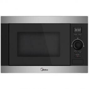MIDEA Microwave Oven Built In Digital Steel 60CM