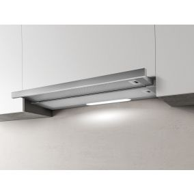 ELICA Chimney Built-In Telescopic Steel 60CM