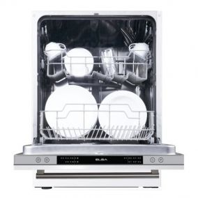 ELBA Dishwasher Built-In Fully Integrated 6 Programmes 60CM