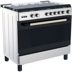 MIDEA Cooker Freestanding 5G Cast Iron 90CM