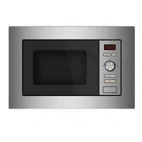MASTER KITCHEN Microwave Oven Built-In Grill Steel 20L