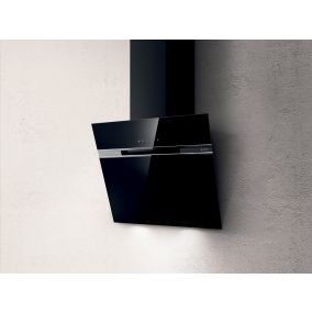 ELICA Chimney Wall Mounted Touch Inclined Black 60CM