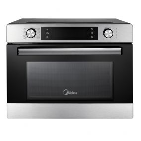 MIDEA Microwave Oven Freestanding Compact Steel 36L