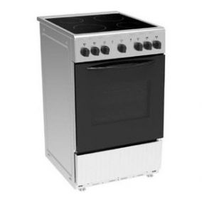 MIDEA Cooker Freestanding 4 Ceramic Electric Steel