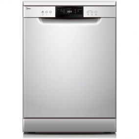 MIDEA Dishwasher Freestanding 14 Place Silver